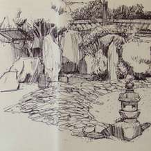 Sketching-at-winterbourne-1483010370